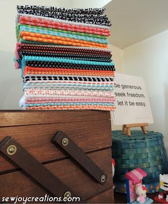 uppercase fabric fat quarters