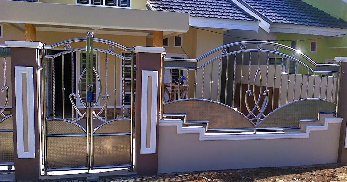 warna cat pagar rumah mewah - Home Desaign
