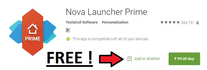 nova launcher prime cracked version