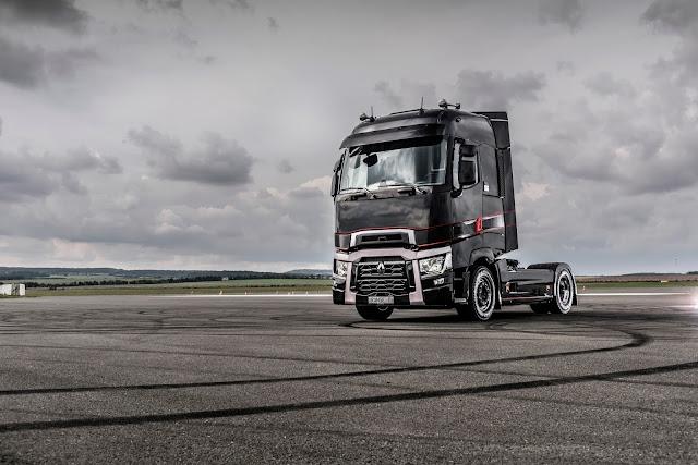 Renault Trucks T serisine Ulaştırma kategorisinde Alman Tasarım Ödülü verildi