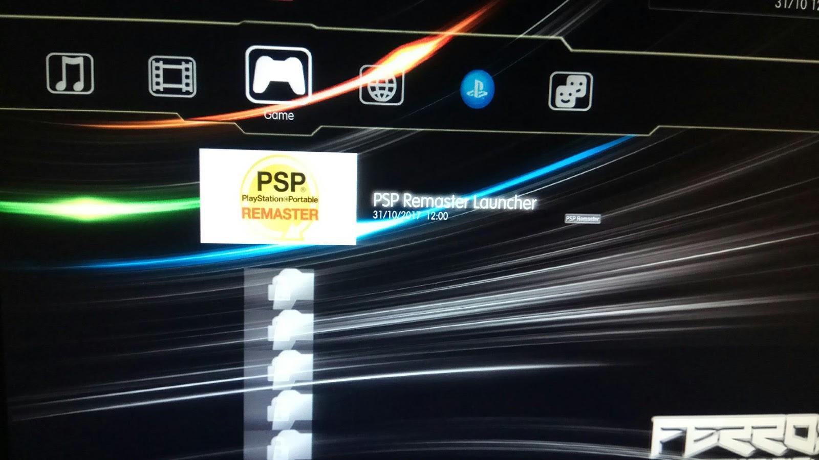 Psp Launcher Ps3