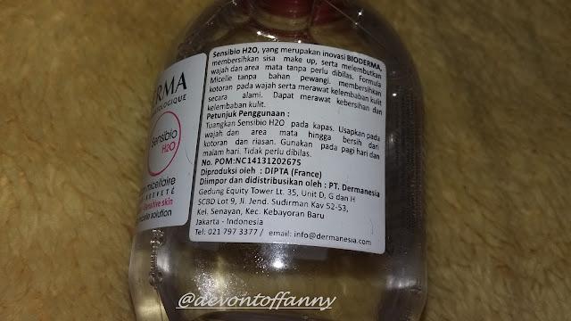 Bioderma Sensibio H2O | Favorite Make Up Remover