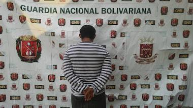 GNB detiene ciudadano por estar solicitado por tribunal en El Vigía