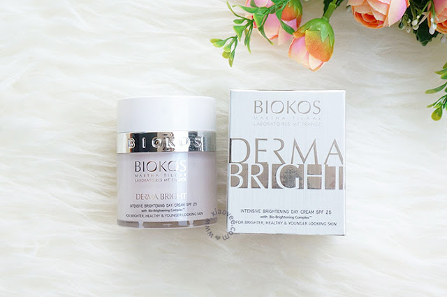 BIOKOS Derma Bright  Intensive Brightening Day Cream Review, Biokos Derma Bright Review, Review Perawatan kulit Biokos
