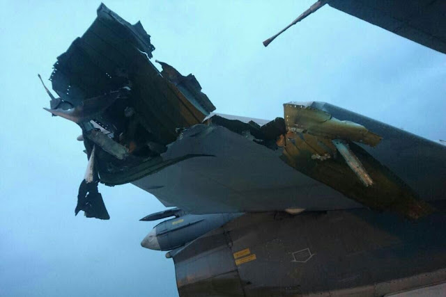 Seven Russian aircraft destroyed Syria