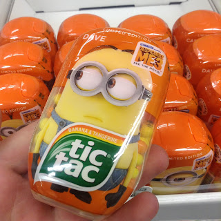 tic tacs banana and tangerine dave despicable me 3 minions