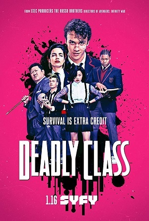Deadly Class - Legendada Séries Torrent Download onde eu baixo