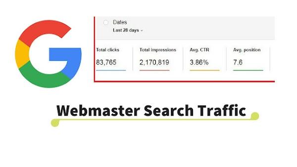 Webmaster Search Traffic Kya Hai? इससे Bloggers को क्या फायदा होता है