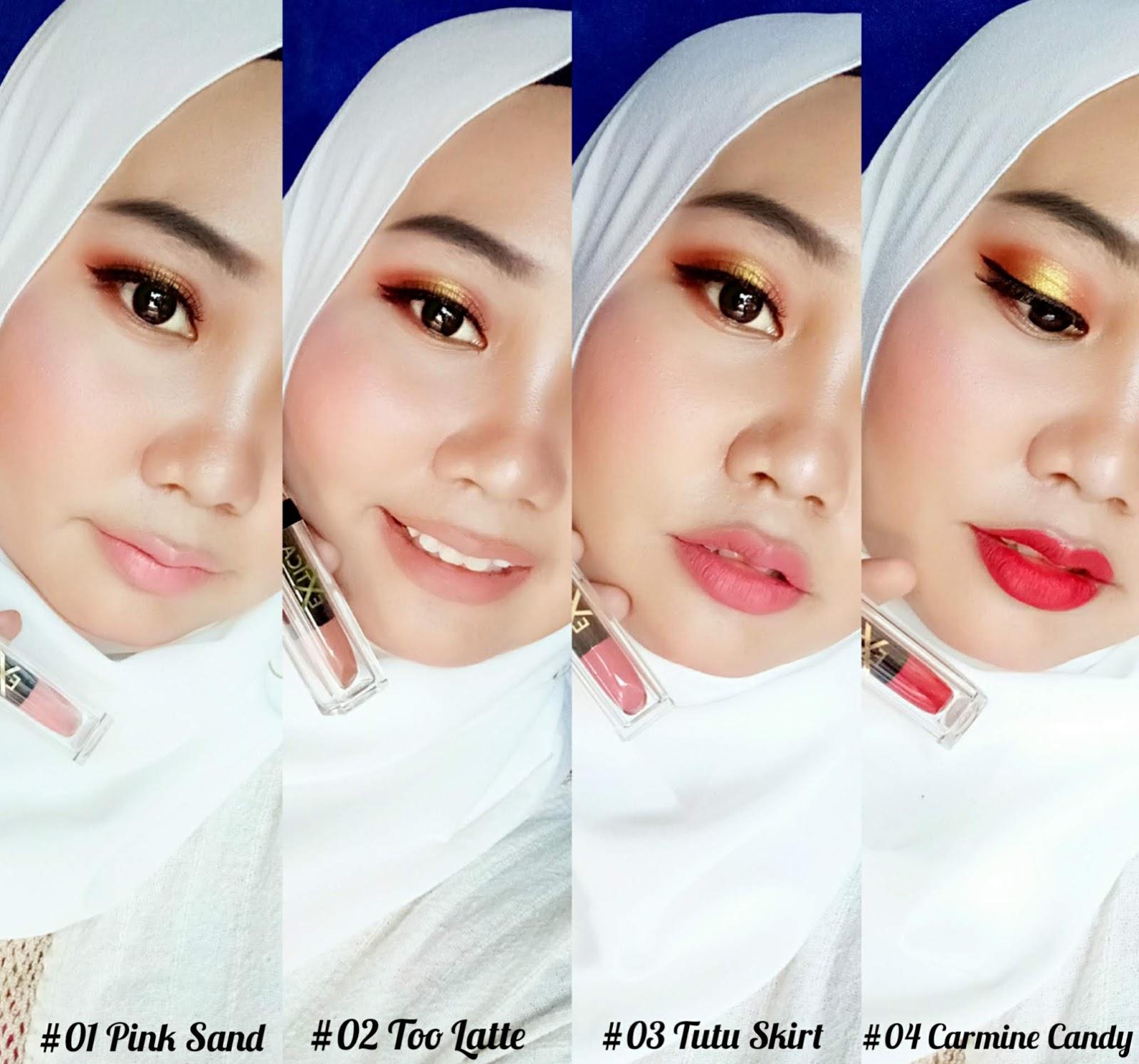 Review Lipstick Lokal Terbaru Extica Charm Matte Lip Cream