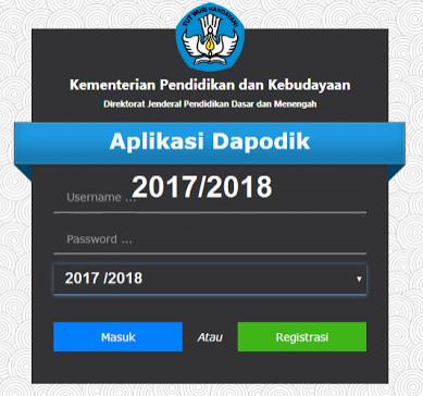 Download Aplikasi Dapodik 2018.b Terbaru