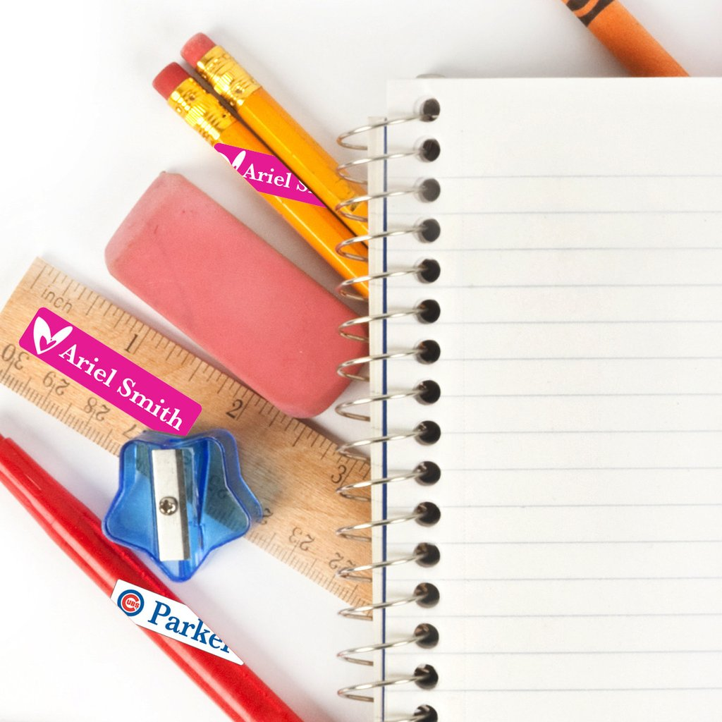 Andersons Angels: Label your School Supplies with Label Daddy