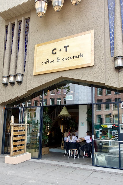Coffee and Coconut cafe Amsterdam
