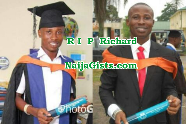 uniport student killed police van