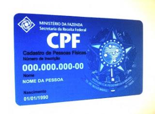 Imprimir CPF Pela Internet