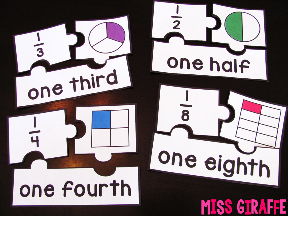 Easy fractions activities that are hands on to make introducing and learning fractions fun