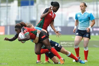 France vs Kenya PyeongChang 2018 Rugby Sevens