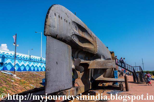 Kursura Submarine Museum Vishakapatnam