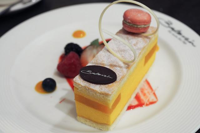 best artisan cake singapore mango mousse bakerzin