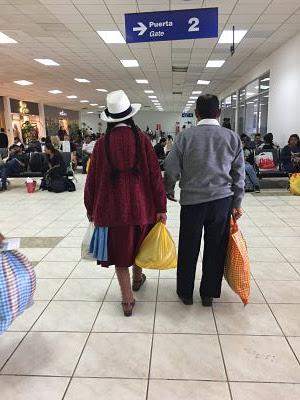 Aeropuerto de Cuzco. Perú