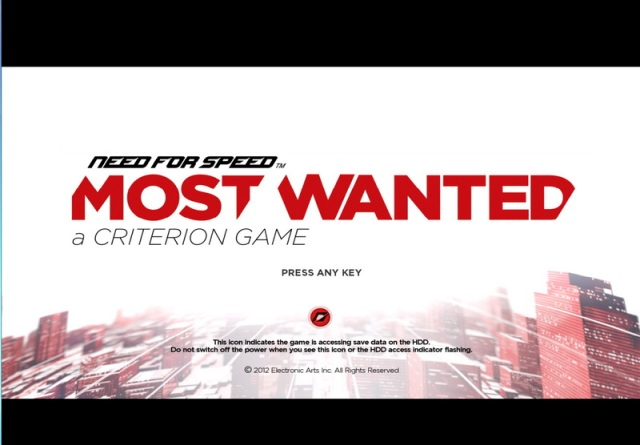 Need for Speed Most Wanted 2012 PC Games