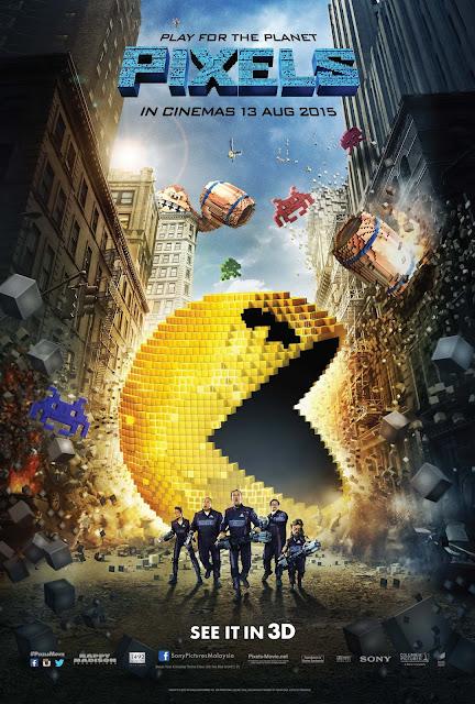 Pixels (2015) ταινιες online seires xrysoi greek subs
