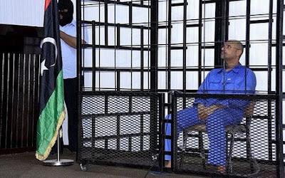 Saif al-Islam Gaddafi in court in Zintan
