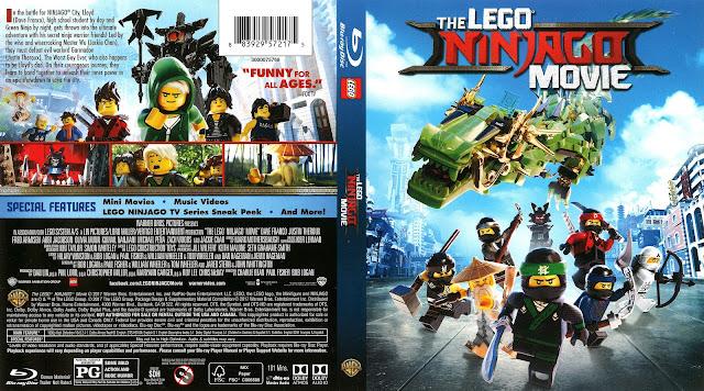 The LEGO Ninjago Movie Bluray Cover