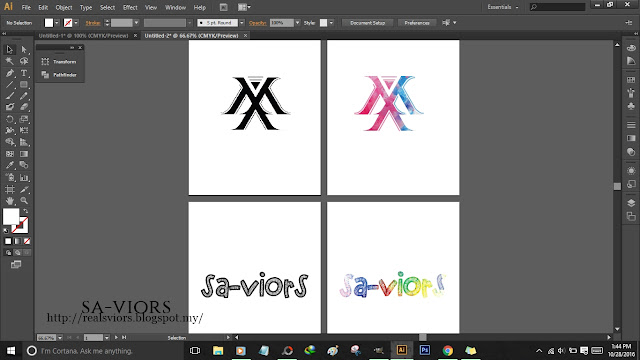HOW I MAKE TEXT MASK OF LOGO AND WORD