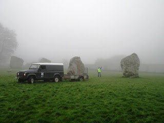 moving the henge stones