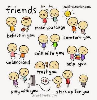 dp bbm persahabatan