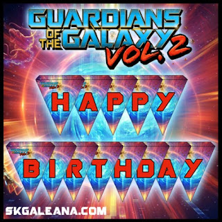 guardian of the Galaxy birthday ideas