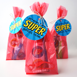 Superhero Goodie Bags