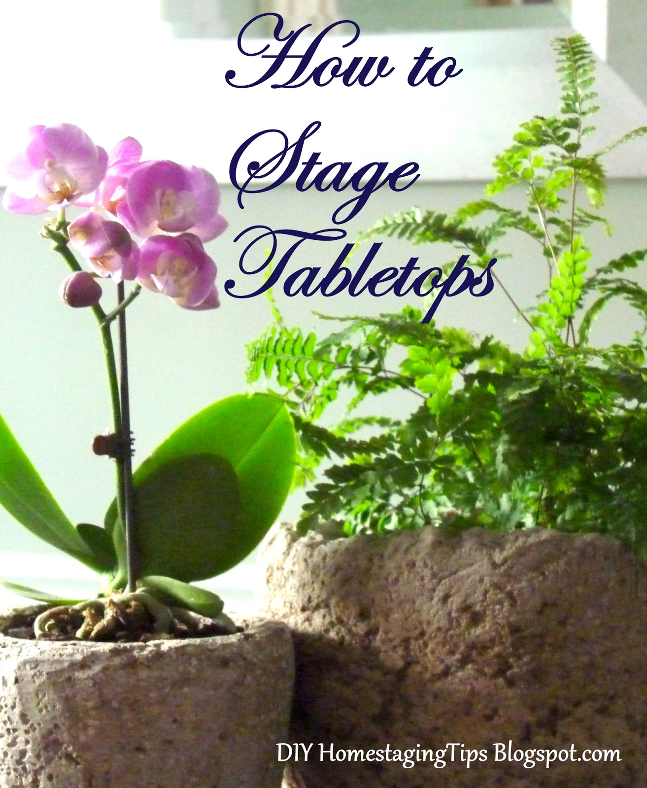 Diy home staging tips what makes a great tablescape for Diy home staging ideas