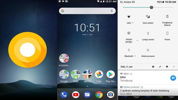 Cara Terbaru mengganti Dan Merubah Bentuk Ikon di Android Oreo