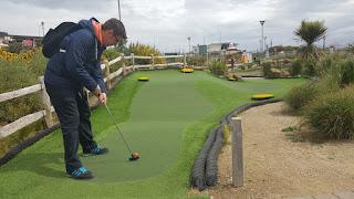 Championship Mini Golf course in New Brighton
