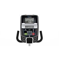 Nautilus R614 console, image, with Dual Track LCD black/grey display