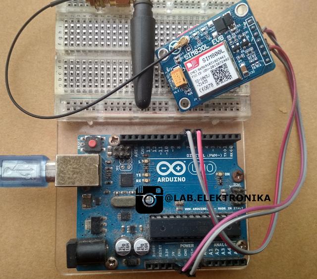 GSM Module SIM800L V2  Dengan Arduino
