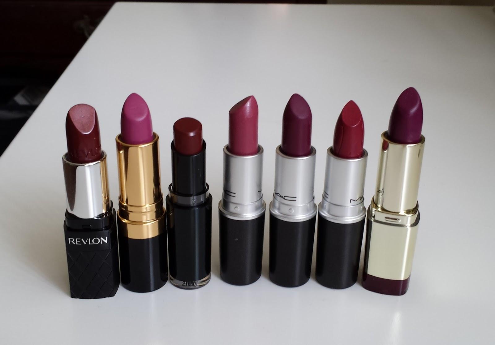 Aquaheart: Favorite Fall Lipsticks (Revlon, MAC, Milani ...