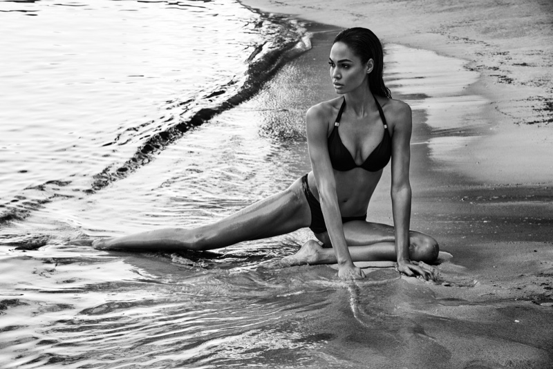 JOAN SMALLS SMOLDERS IN SMART & SEXY SWIM CAMPAIGN