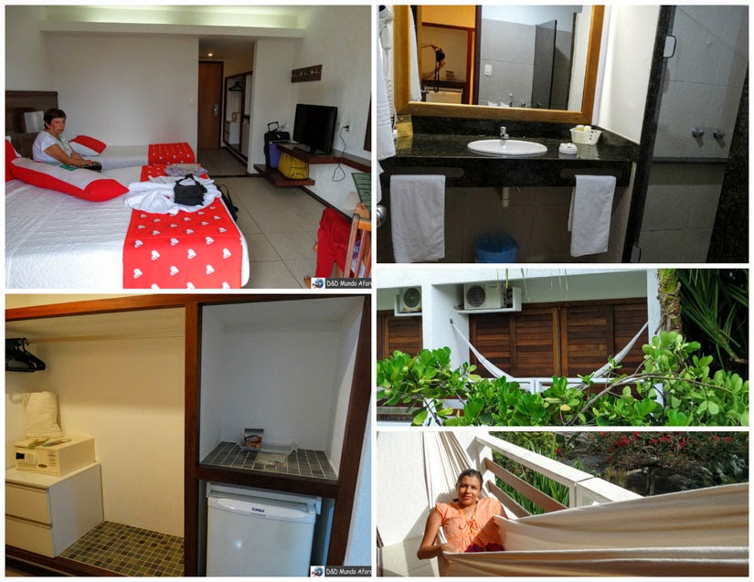 Onde ficar em Porto de Galinhas - review Hotel Village - quarto