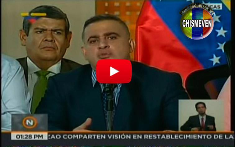 Tarek William Saab anuncia la excarcelación de 40 presos políticos