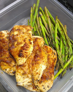 Grilled BBQ Chicken Breasts
