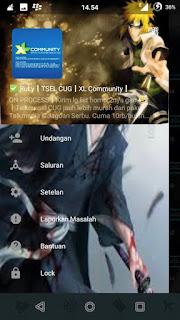 BBM MOD Naruto V 2.12.0.9 terbaru