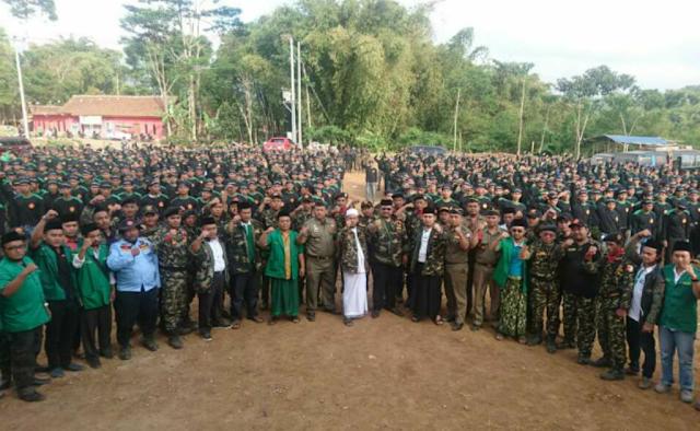 Sempat Menolak Peserta, Kaderisasi Banser di Sukaresmi Diikuti 1160 Orang