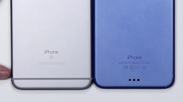 iPhone 7 in Deep Blue