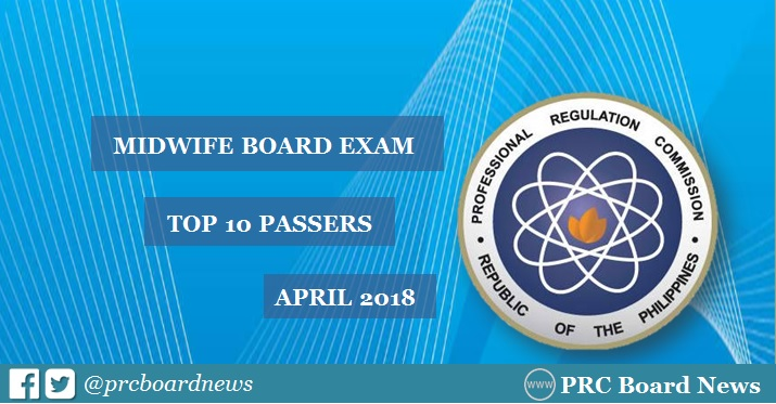 midwife board exam topnotchers
