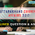 Important Uttarakhand Current affairs 2019 Question And Answer