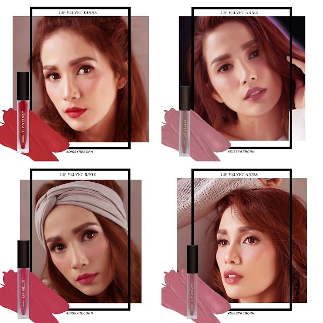 Lip Velvet Dissy Cosmetic Swatch