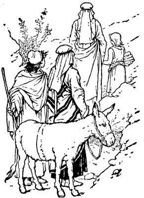 Kids Bible Stories: The Kids Bible Story of Abraham and Issac