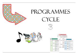 programmes synthétisés cycle 3 cm1 cm2 programmes résumés clairs